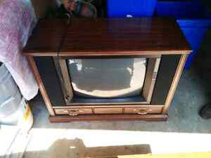 Electrohome and Sears antique tv