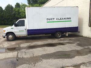 2000 Ford E-Series CubeVan w/ duct cleaning equipment