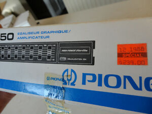 Vintage Pioneer BP-650 7 Band Graphic Equalizer w/Box & Manual Kitchener / Waterloo Kitchener Area image 9
