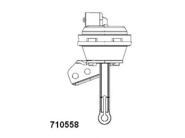 VOLKSWAGEN VW SHARAN 1.9 TDI AGR VENTIL WAHLER 710558