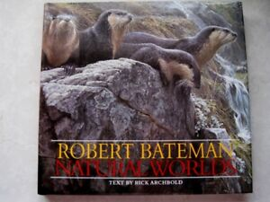 Robert Bateman coffee table book signed by the author !