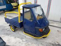 1998 Piaggio Ape 50 drive with CBT