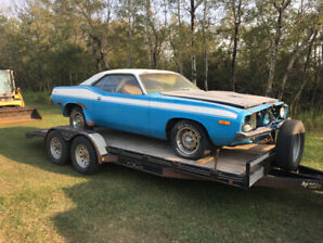 Mopar Barracuda factory 340 4 speed car