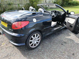 REDUCED Peugeot 206cc stunning, swap, part ex, delivery available