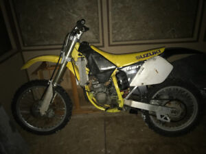 2000 Rm125 for Sled