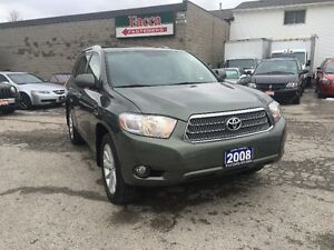 2008 TOYOT HIGHLANDER AWD NAVIG LEATHER AUTO CERTIFIED & E-TEST London Ontario image 1
