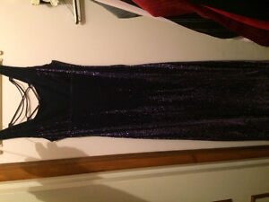 Brand new Sparkly Purple Dress from HBC