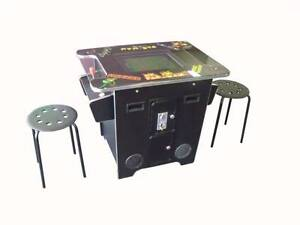 60 GAME 2 PLAYER COCKTAIL SIT DOWN ARCADE MACHINE NEW WARRANTY Malaga Swan Area Preview