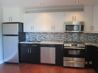 Completely renovated 3 bedroom apartment Available Apr.1
