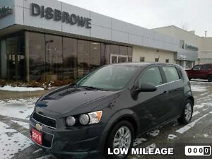 2016 Chevrolet Sonic LT  Low Mileage, Heated Seats, Remote Start