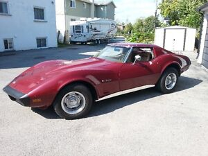1974 Corvette... Last year for no catalytic converters!