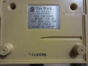 Vintage DELUXE  Ice crusher   $20 OBO Kitchener / Waterloo Kitchener Area image 6