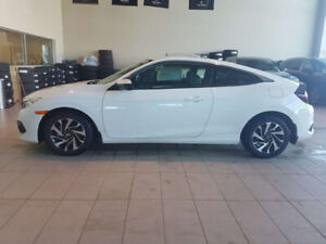 Only 2,237kms ! 2018 Honda Civic LX Coupe with Honda Sensing