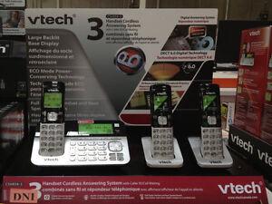 VTECH CS6858-3 Cordless Phone 3 Handset Answering System Kitchener / Waterloo Kitchener Area image 4