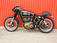AJS 7R 1950 348cc ROAD REGISTERED V5C & BUFF LOG BOOK