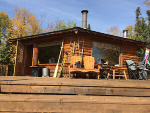 Cabin and A-Frame Guest Cabin for Sale