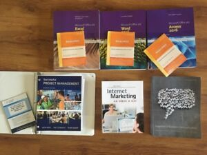NSCC business admin textbooks