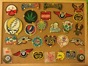 Assorted Iron-On Patches