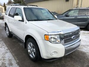 2010 Ford Escape Limited V6 4WD SUV - Nav, Camera, leather