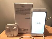 ** IMMACULATE CONDITION SILVER IPHONE 6 - 64GB **