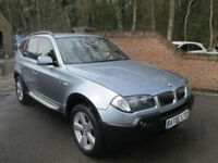 2005 (05) BMW X3 3.0i SPORT AUTOMATIC + FULL BLACK LEATHER