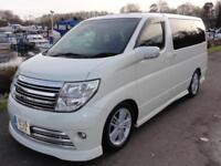 2006 Nissan Elgrand RIDER S SUNROOFS BIMTA MILAGE CERTIFIED 3.5 5dr