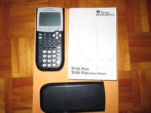 Calculatrice TI-84 Plus silver
