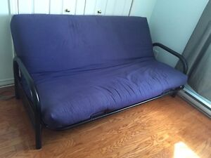 Futon for sale.  Frame and mattress