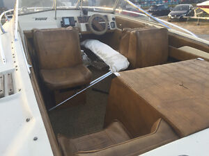 Tempest runabout 17ft with trailer sea ray bayliner bowrider London Ontario image 6
