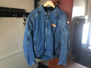 Cortech Motorcycle Jean Jacket For Sale