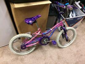 Girls bike. Age 6+