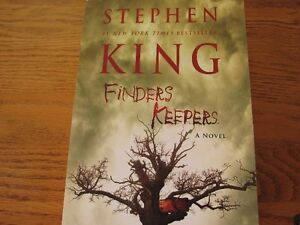 """Finders Keepers"" by Stephen King - Brand New! Great Gift Idea!"