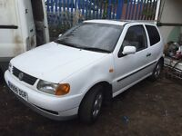 Vw polo car low miles