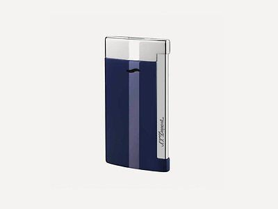 S.T. Dupont Lighter - Slim 7 Blue Lacquer Finish - 27709