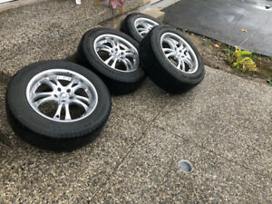 American Racing rims with tires 245/60/R18