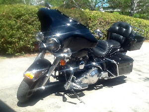 1991 Harley FLH Evolution 5 speed $6,500 or best cash offer.38 k