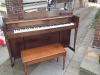 1950s Story and Clark upright piano!