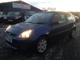 57 FORD FIESTA 1.25 STYLE 3DR METALLIC BLUE 2 OWNERS FSH