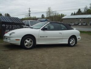 1999 Pontiac Sunfire GT Coupe (2 door) Convertible