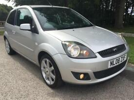 2008 FORD FIESTA 1.25 ZETEC BLUE 3DR MANUAL HATCHBACK