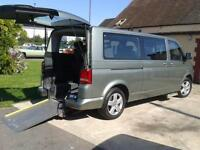 2010 VW Volkswagen Caravelle LWB DIESEL AUTO DISABLED DRIVER TRANSFER WHEELCHAIR