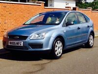 FORD FOCUS 1.6 AUTO 05 58K LOW MILEAGE FSH CAMBELT CHANGED MOT 3 MONTHS WARRANTY CALL NOW