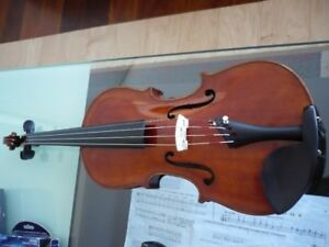 violin 4/4 Franz Hell, German, 100years old