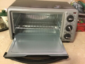 Black and decker toaster/ oven used once