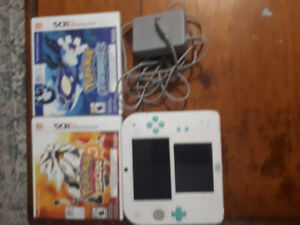 2ds with pokemon games
