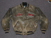 Vintage Roots Canada Distressed Leather Jacket - $190.00