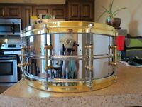 Ludwig Chrome-Over-Brass Supraphonic (Brass Edition) 6.5x14""