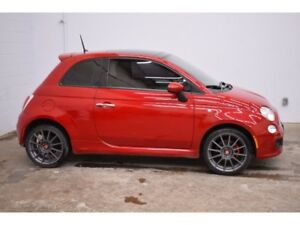 2014 Fiat 500 Sport- LEATHER * SUNROOF * CRUISE