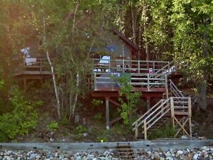 Mabel Lake Lakefront Cabin and BC Government Lease