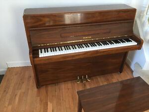 1980 Yamaha upright piano